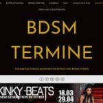 BDSM Termine, Veranstaltungskalender Fetish, Sadomaso BDSM